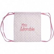 "SAC  A DOS ""MISS ADORABLE"""