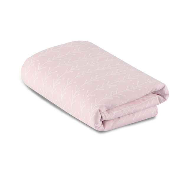 Couverture nordic rose